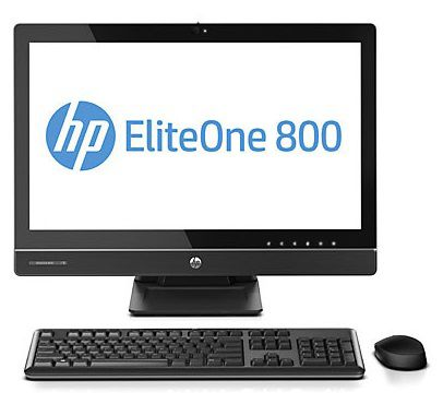 Моноблок HP EliteOne 800 G1, Intel Core i7 4770S, 4Гб, 500Гб, Intel HD Graphics 4600, DVD-RW, Windows 7 Professional, черный [e5b27es]