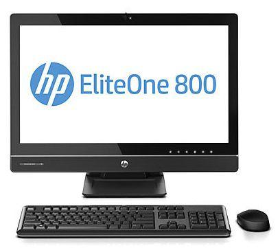 Моноблок HP EliteOne 800 G1, Intel Core i5 4570S, 4Гб, 500Гб, Intel HD Graphics 4600, DVD-RW, Windows 8 Professional, черный [e5b30es]