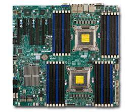 Серверная материнская плата SUPERMICRO MBD-X9DR3-LN4F+-B,  bulk