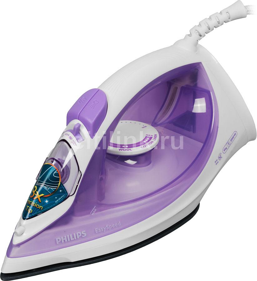 Утюг PHILIPS GC1026/30,  2000Вт,  фиолетовый