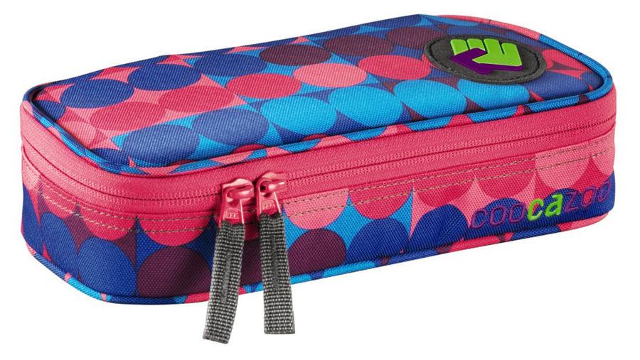Пенал Coocazoo PencilDenzel Dots Methyl розовый/голубой 00119824 6х24х11см карман для расписания/съе
