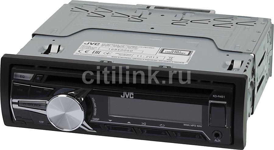 Автомагнитола JVC KD-R451EY,  USB