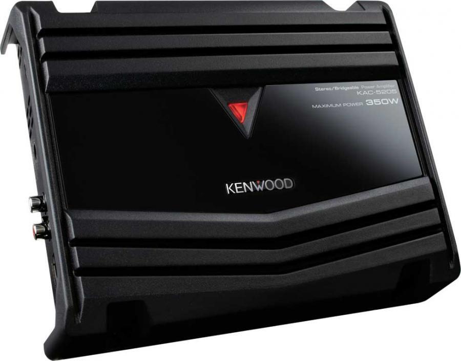 Усилитель автомобильный KENWOOD KAC-5205,  черный
