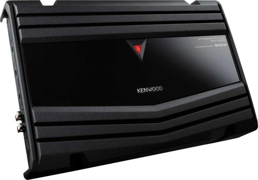 Усилитель автомобильный KENWOOD KAC-6405,  черный