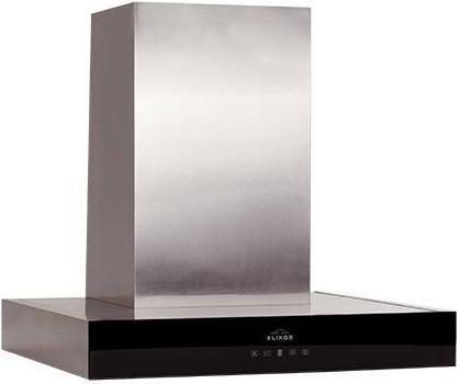 Каминная вытяжка ELIKOR Агат 60Н-1000-Е4Г,  1 мотор,  сенсорное,  нержавеющая сталь/черный