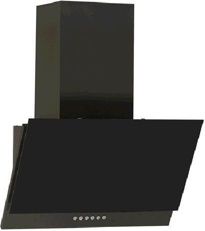 Вытяжка каминная Elikor Рубин S4 60П-700-Э4Г антрацит/черное стекло управление: кнопочное (1 мотор) [кв i э-700-60-427]