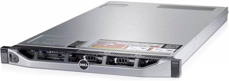 Сервер Dell PE R320 E5-2420/8Gb 2RLVRD 1.3/ x4 noHDD 3.5