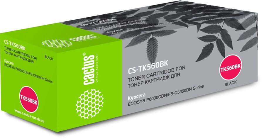 Картридж CACTUS CS-TK560BK черный
