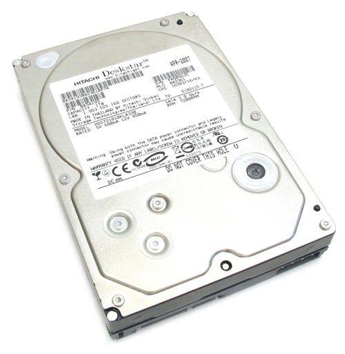 Жесткий диск HITACHI Deskstar 7K1000 HDS721010KLA330,  1Тб,  HDD,  SATA,  3.5