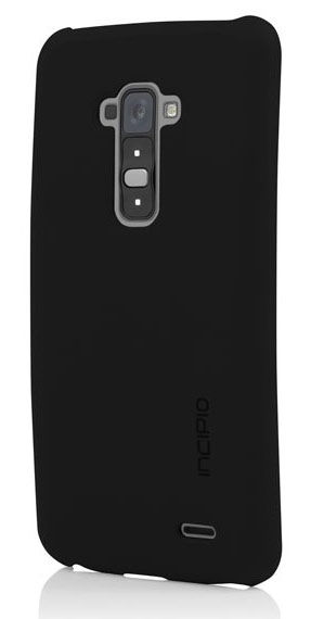Чехол (клип-кейс) INCIPIO Feather, для LG G Flex, черный [lge-229-blk]
