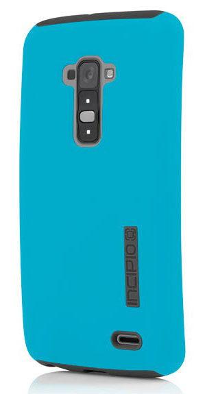 Чехол (клип-кейс) INCIPIO DualPro (LGE-231-CYN), для LG G Flex, голубой