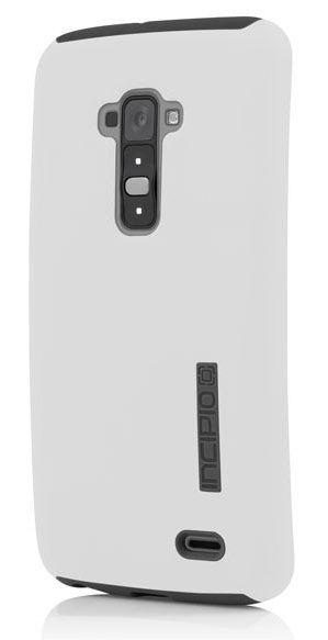 Чехол (клип-кейс) INCIPIO DualPro, для LG G Flex, белый [lge-231-wht]