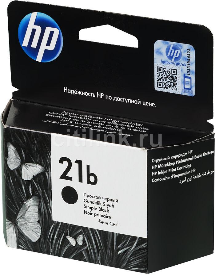 Картридж HP №21b черный [c9351be]