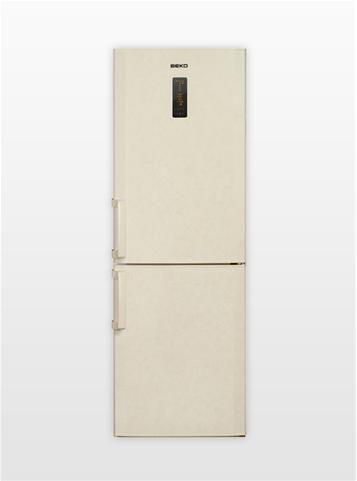 Холодильник BEKO CN 328220 AB,  двухкамерный,  бежевый