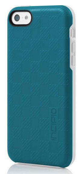 Чехол (клип-кейс) INCIPIO Rowan (IPH-1137-TRQ), для Apple iPhone 5c, бирюзовый