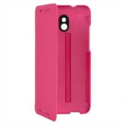 Чехол (флип-кейс) HTC HC V851, для HTC One mini, розовый [hc v851 роз./роз.]