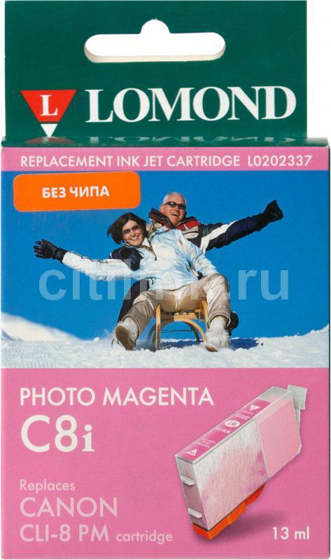 Картридж LOMOND CLI-8PM (без чипа) пурпурный [l0202337]