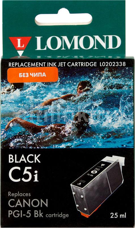 Картридж LOMOND PGI-5BK (без чипа) черный [l0202338]