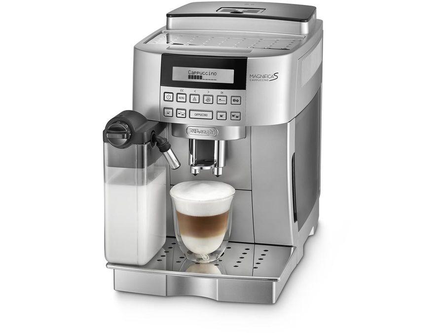 Кофемашина DELONGHI Magnifica S ECAM 22.360.S,  серебристый