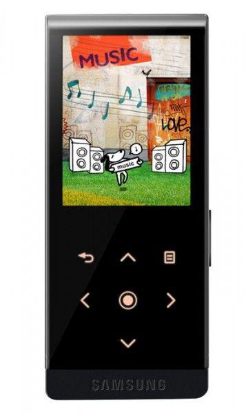MP3 плеер SAMSUNG YP-T10 flash 4Гб черный [yp-t10ab/xer]