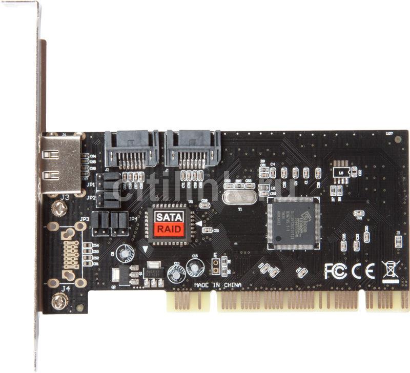 Контроллер PCI SIL3512 RAID 1xE-SATA 2xSATA [asia pci 3512 2p sata]
