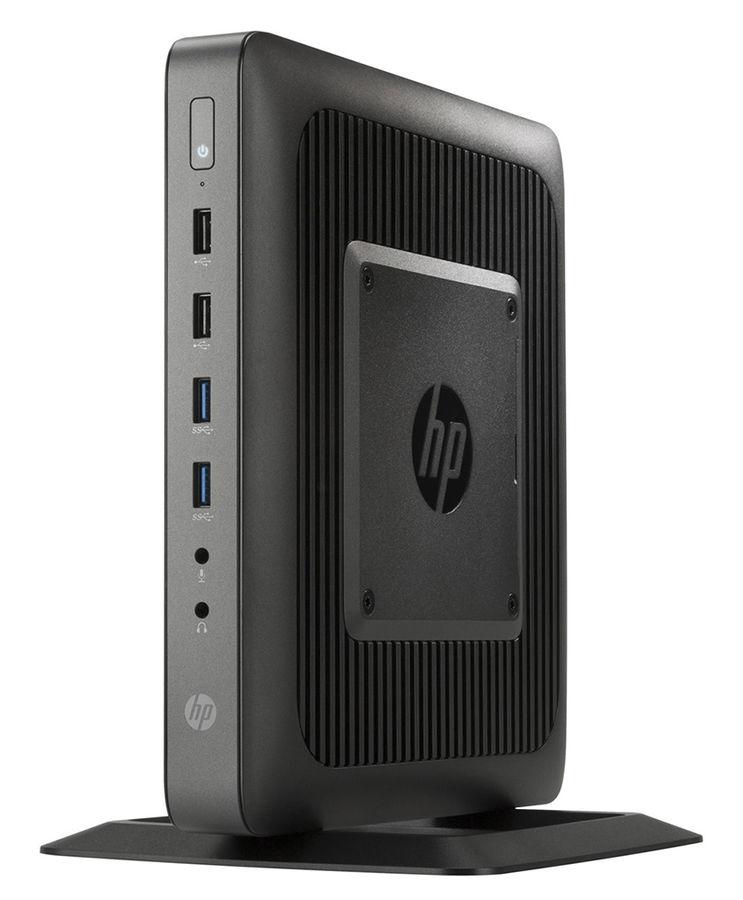 Тонкий клиент  HP t620,  AMD  GX-217GA,  DDR3L 4Гб, 16Гб(SSD),  AMD Radeon HD 8280E,  без ODD,  Windows Embedded Standard 7E,  черный [f5a58aa]