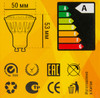 Лампа X-FLASH Spotlight GU10-6W-3K-220V, 6Вт, 350lm, 50000ч,  3000К, GU10,  1 шт. [43453] вид 6