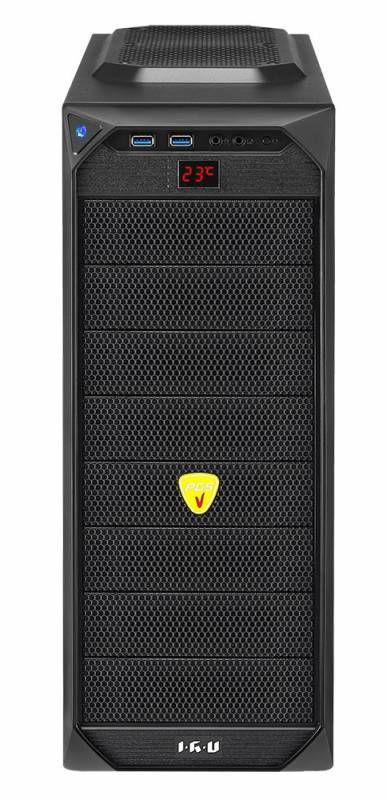 Компьютер  IRU Power 519,  Intel  Core i5  3470,  DDR3 8Гб, 1000Гб,  nVIDIA GeForce GTX 660 - 2048 Мб,  DVD-RW,  CR,  noOS,  черный