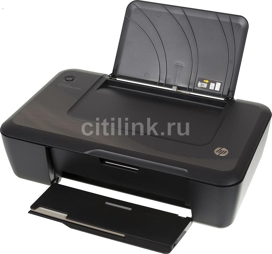 Принтер HP DeskJet Ink Advantage 2020hc,  струйный, цвет: черный [cz733a]
