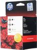 Набор картриджей HP 46 многоцветный / черный [f6t40ae] вид 3