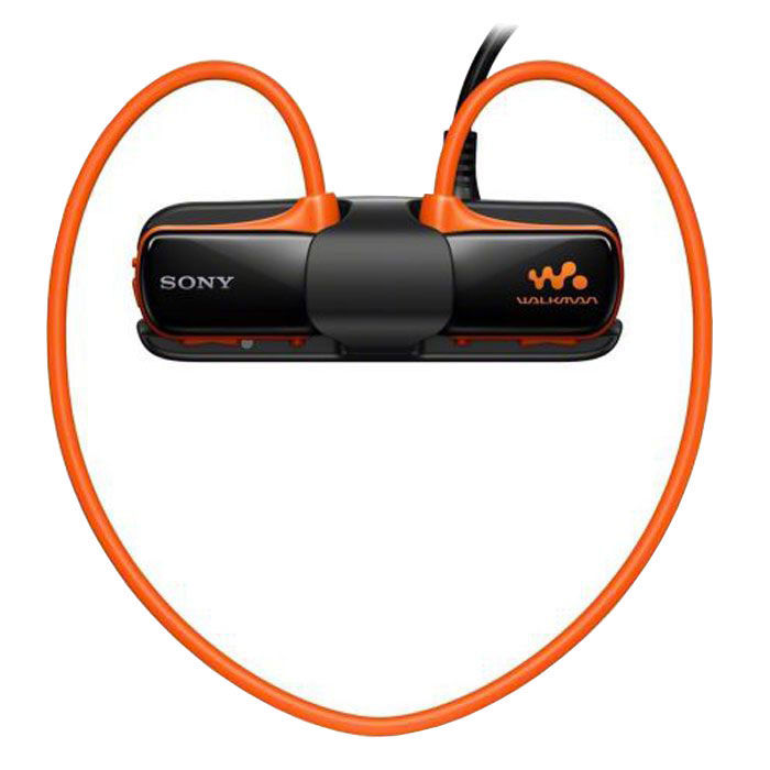 MP3 плеер SONY NWZ-W274 D flash 8Гб оранжевый [nwzw274d.ee]