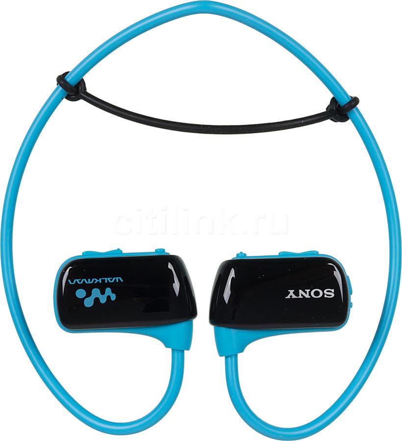 MP3 плеер SONY NWZ-W274 L flash 8Гб голубой [nwzw274l.ee]