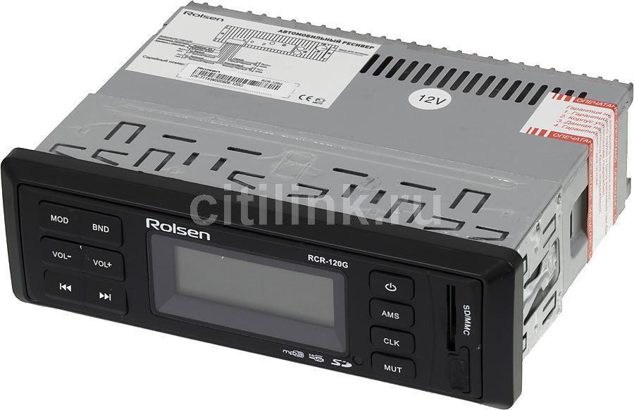 Автомагнитола ROLSEN RCR-120G,  USB,  SD/MMC