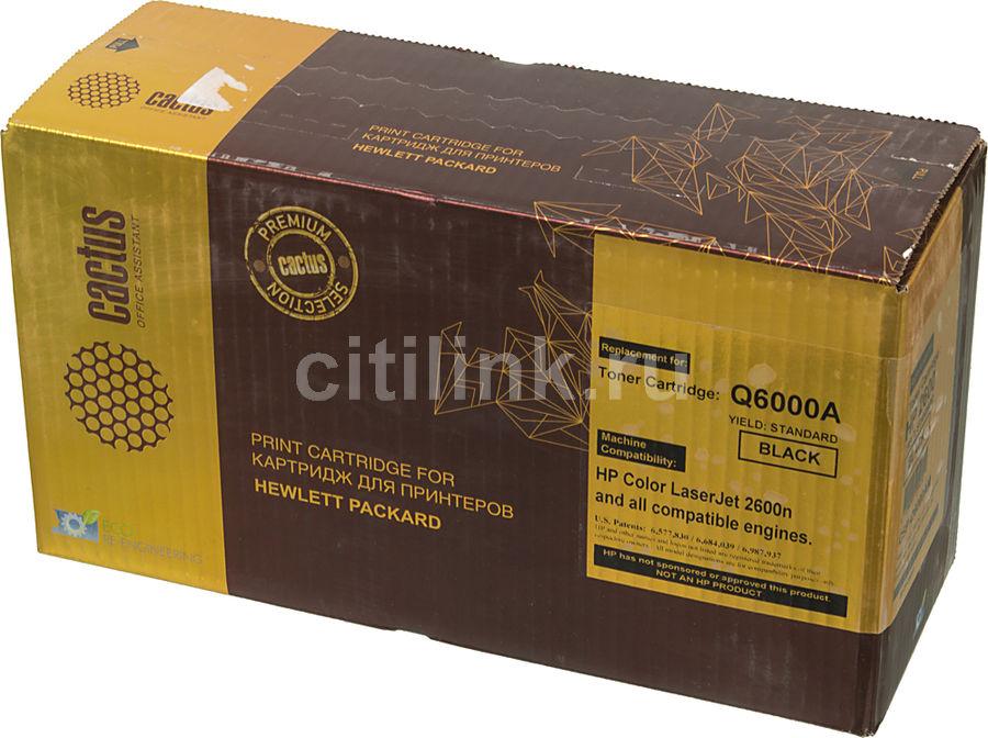 Картридж CACTUS CSP-Q6000AM PREMIUM,  черный