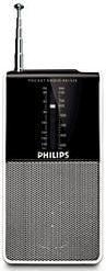 Радиоприемник PHILIPS AE1530/00,  черный