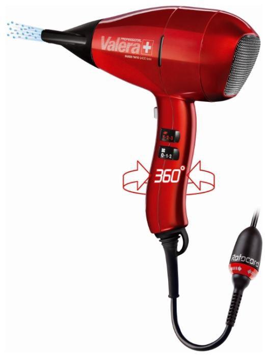 Фен VALERA SN 9400Y RC, 2400Вт, красный