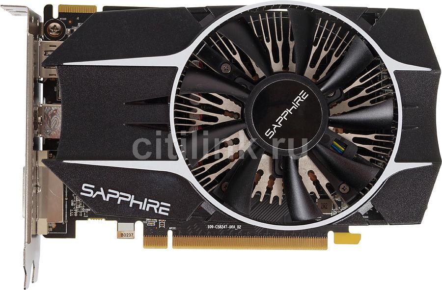 Видеокарта SAPPHIRE AMD  Radeon R7 260X ,  11222-05-20G,  1Гб, GDDR5, OC,  oem [11222-05-10g]