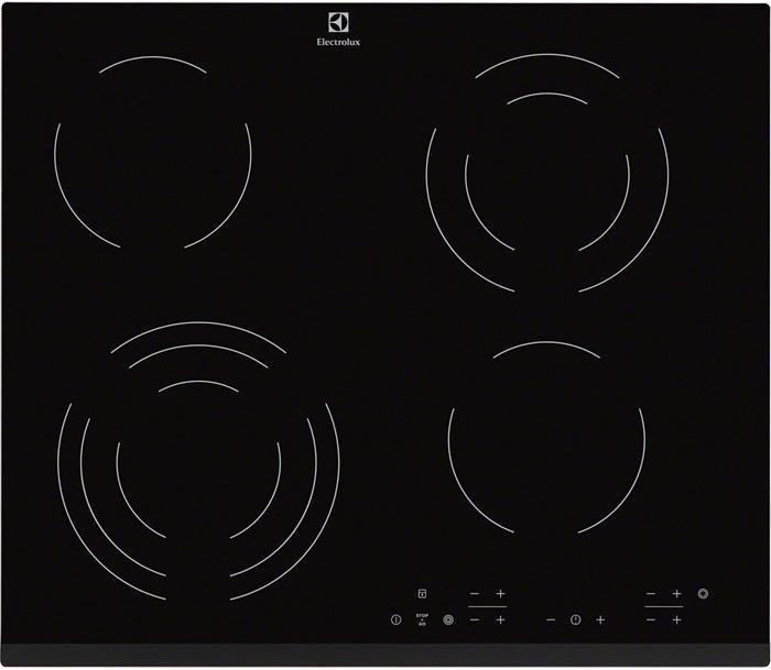 Варочная поверхность ELECTROLUX EHF56343FK,  независимая,  черный
