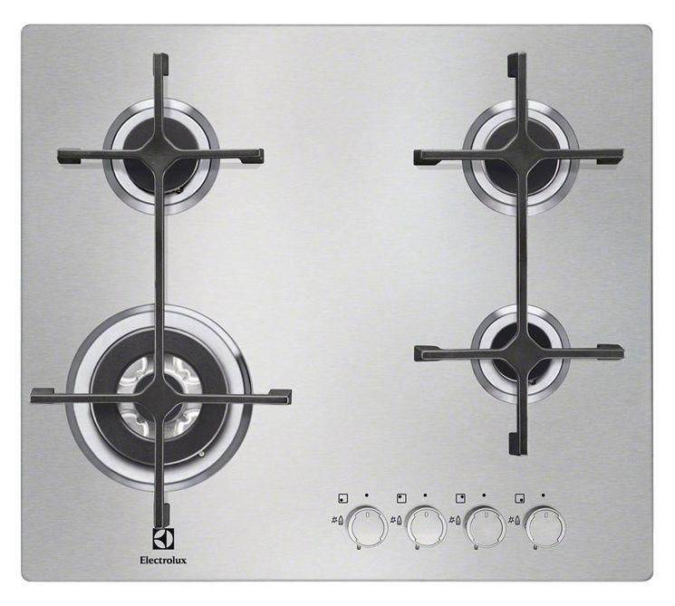 Варочная панель ELECTROLUX EGS 56648 NX,  независимая,  серебристый