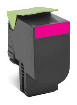 Картридж LEXMARK 808SM 80C8SM0,  пурпурный