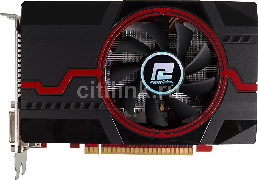 Видеокарта POWERCOLOR Radeon R7 260X,  2Гб, GDDR5, OC,  Ret [axr7 260x 2gbd5-dhe/oc]