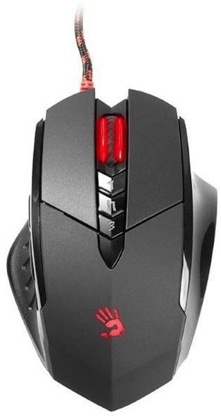 Мышь A4 Bloody V7M, игровая, оптическая, проводная, USB, черный
