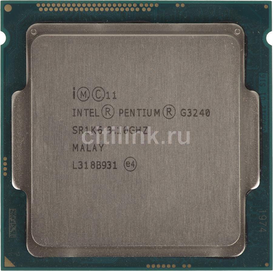 Процессор INTEL Pentium Dual-Core G3240, LGA 1150 * OEM [cm8064601482507s r1k6]
