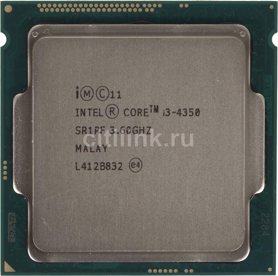 Процессор INTEL Core i3 4350, LGA 1150,  OEM [cm8064601482464s r1pf]