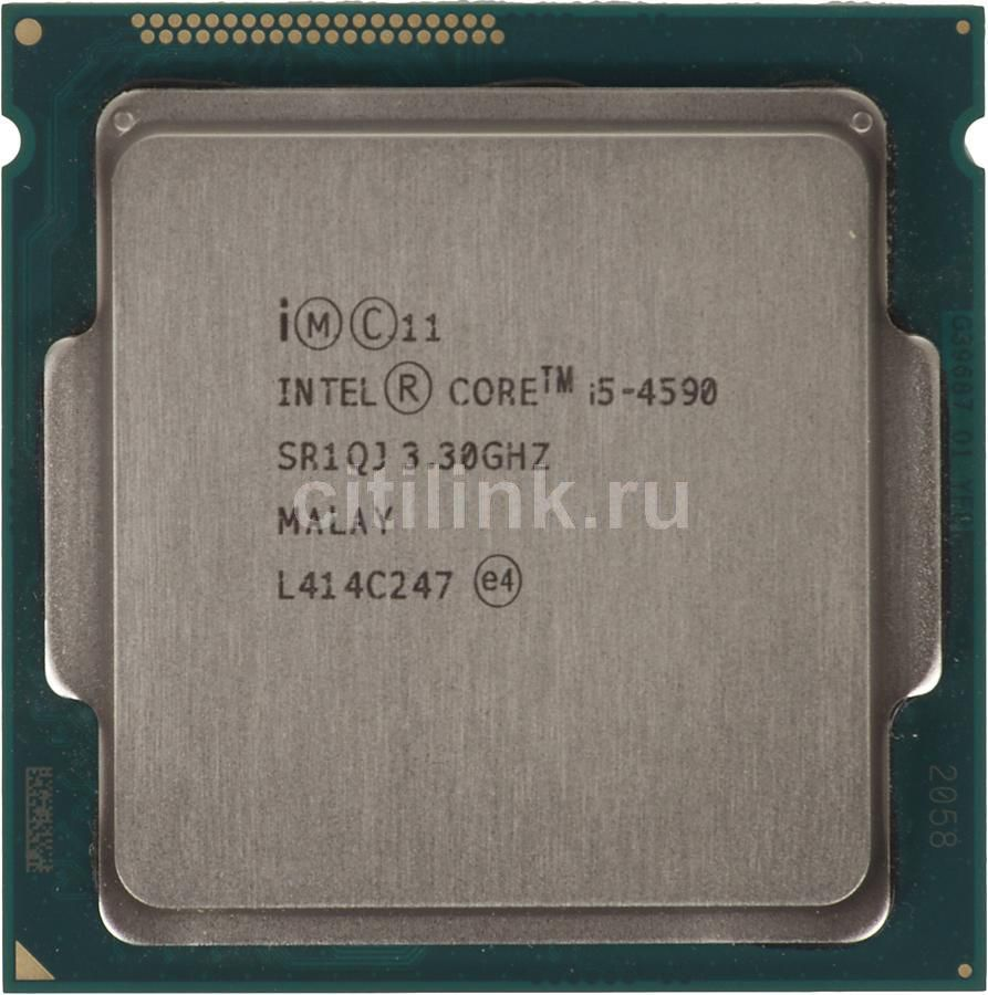 Процессор INTEL Core i5 4590, LGA 1150 * OEM [cm8064601560615s r1qj]