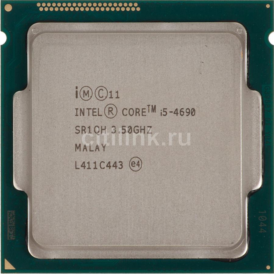 Процессор INTEL Core i5 4690, LGA 1150 * OEM [cm8064601560516s r1qh]