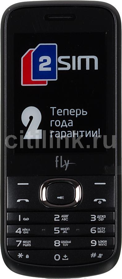 Мобильный телефон FLY DS129  черный