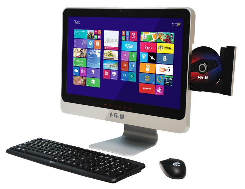 Моноблок IRU 207 K, Intel Pentium 2030M, 4Гб, 320Гб, Intel HD Graphics, DVD-RW, Windows 8, черный [890990]