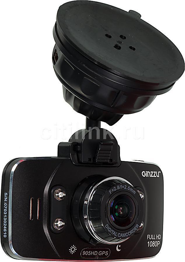 Видеорегистратор GINZZU FX-905HD черный