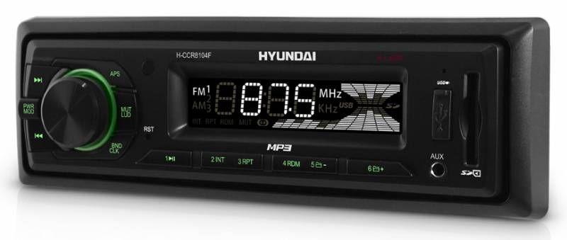 Автомагнитола HYUNDAI H-CCR8104F,  USB,  SD/MMC